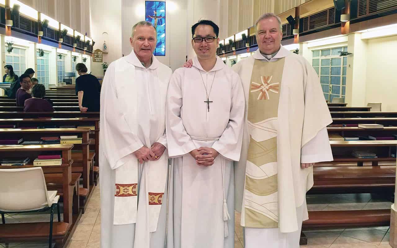 3 nuevos misioneros se unen a Maryknoll