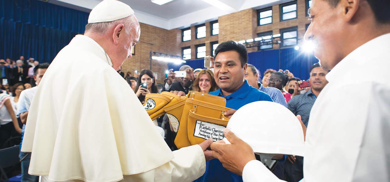 El papa de los migrantes