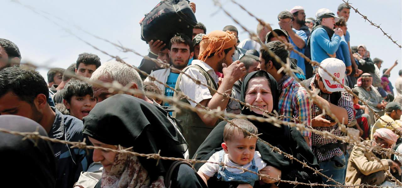 Las lágrimas de los refugiados