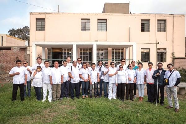 Un proyecto apoyado por Maryknoll da a los invidentes en Perú una oportunidad de ser productivos y autosuficientes