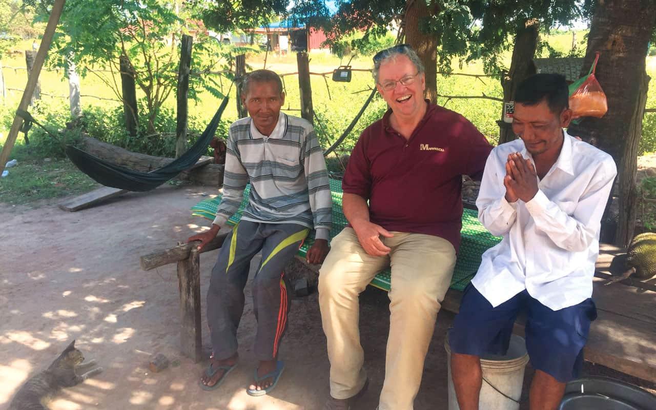 Por fin desencadenados en Camboya