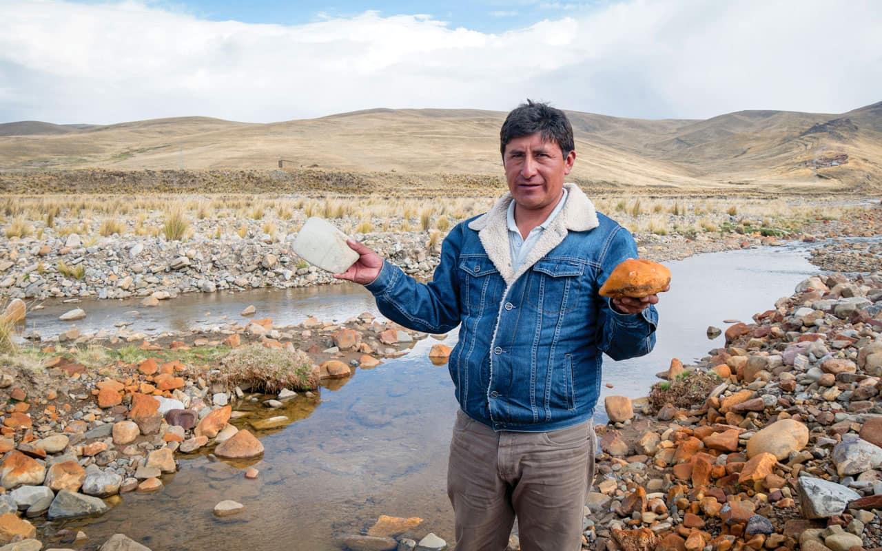 Sanando aguas que queman en Condoraque