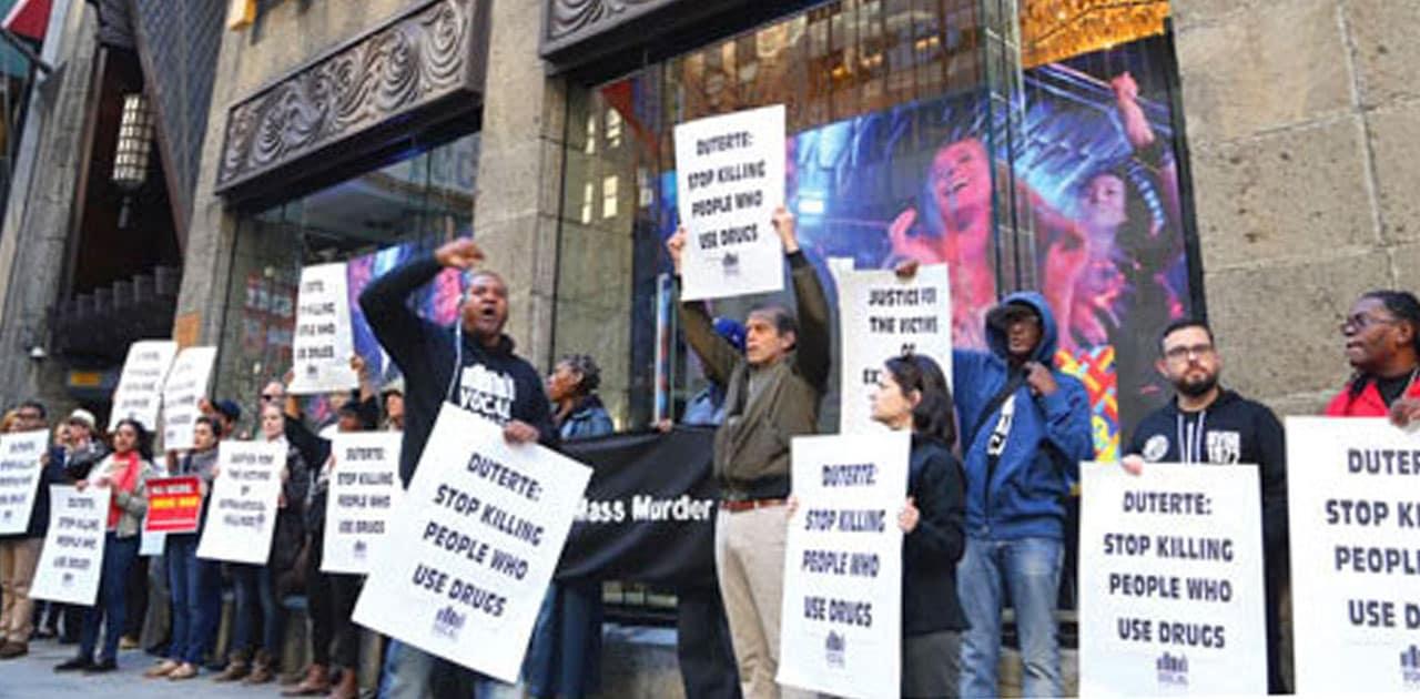 FILIPINAS: Ejecuciones extrajudiciales generan protestas