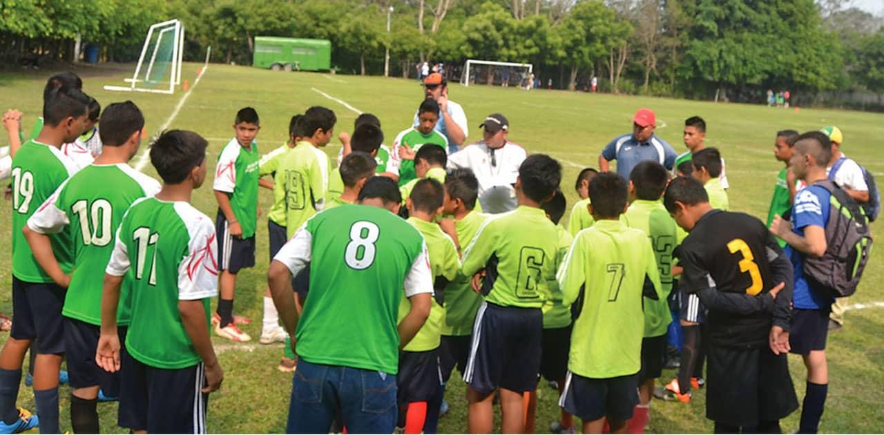 Jugando por la paz en El Salvador