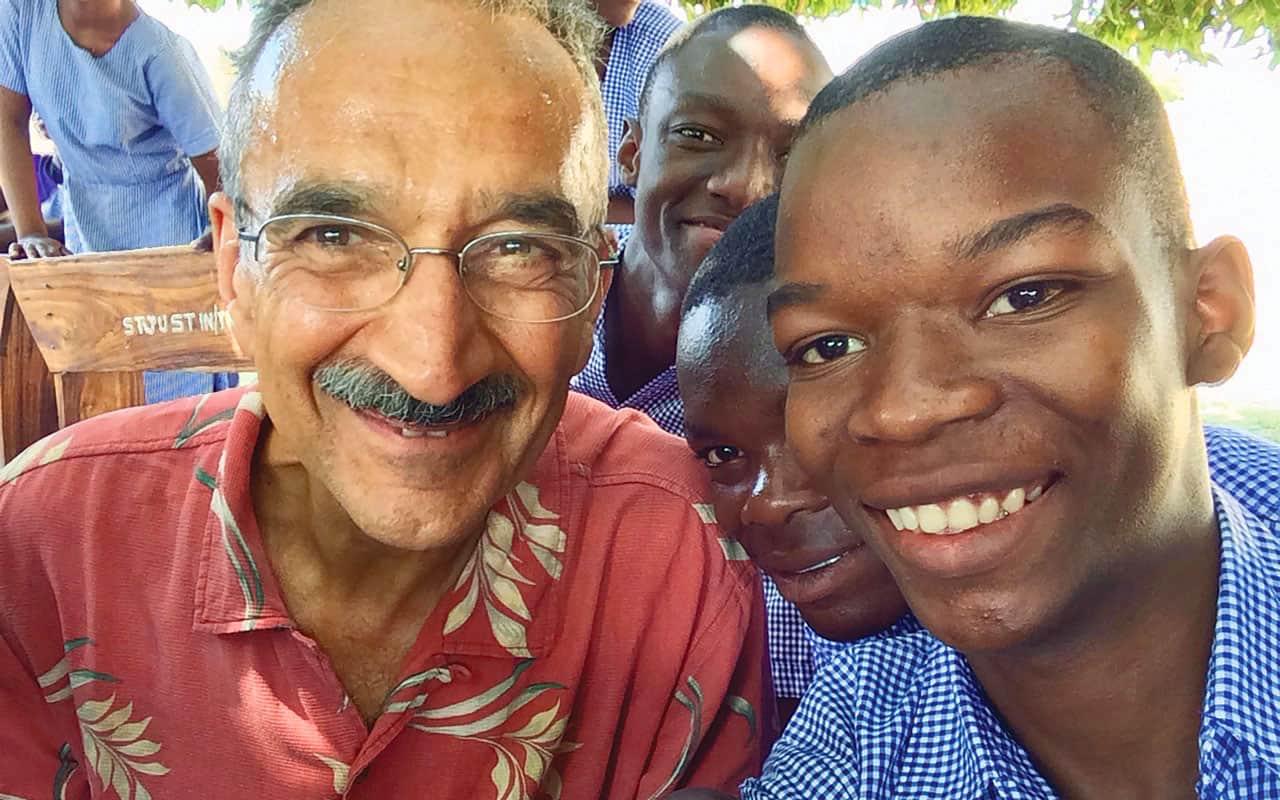 Ser evangelizado en viaje a África
