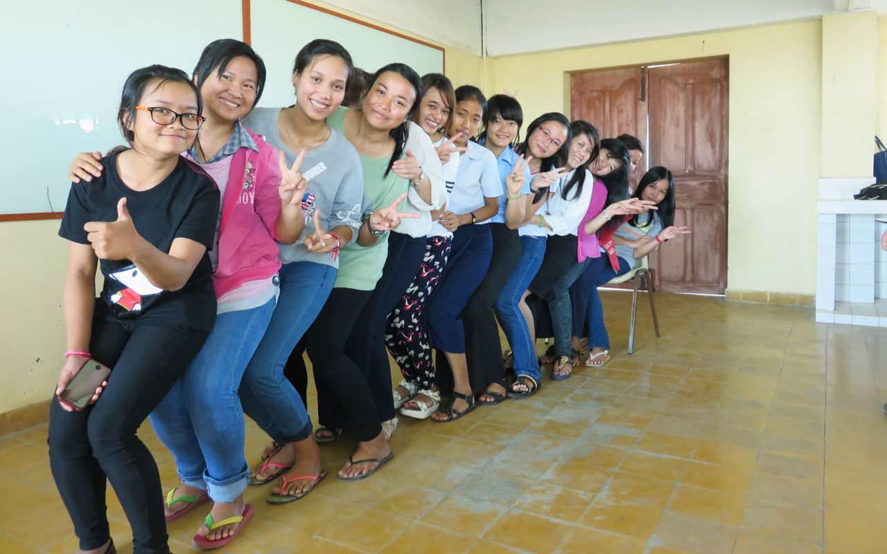 En Phnom Penh, Camboya: Maestra del Futuro