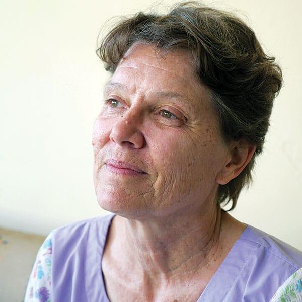 Susan Nagele ha servido en misión en África por más de tres décadas