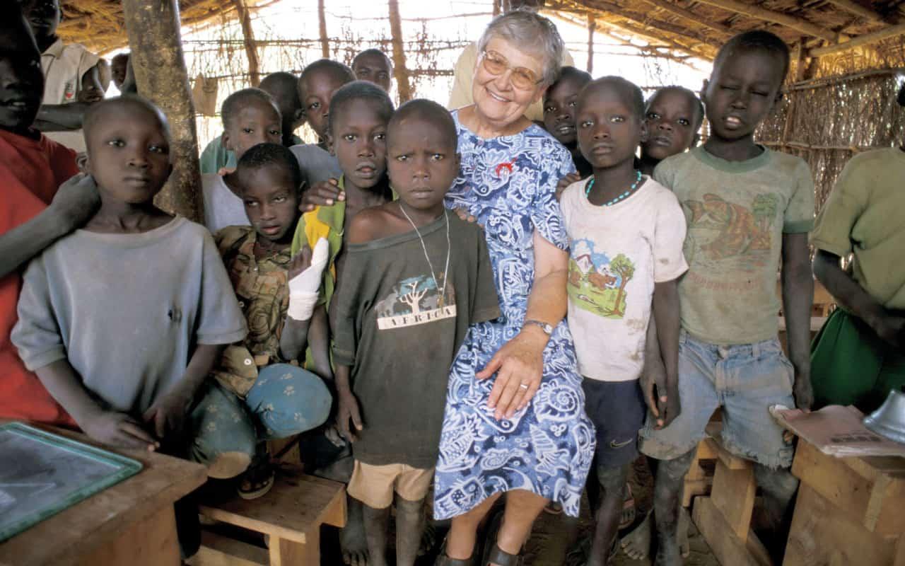 Misionera Maryknoll recuerda a los niños de Sudán del Sur