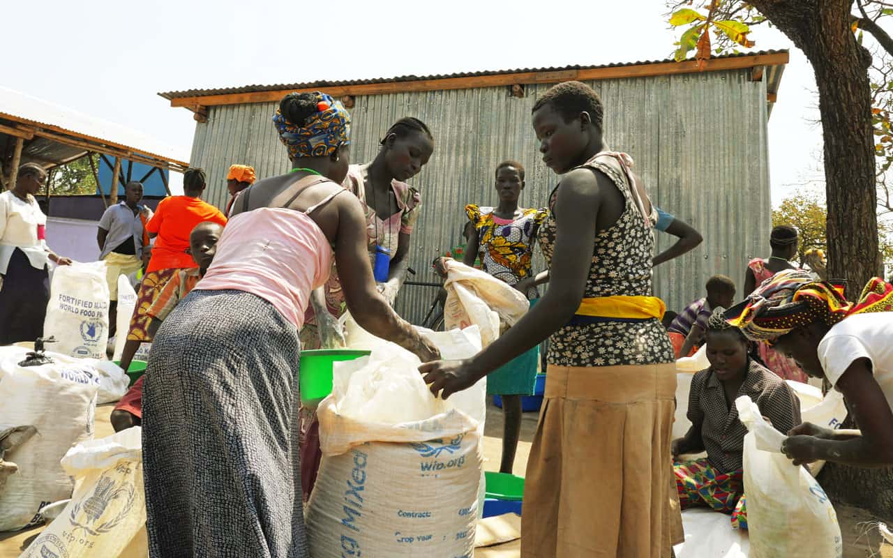 Catequista de Sudán del Sur encuentra refugio en Uganda
