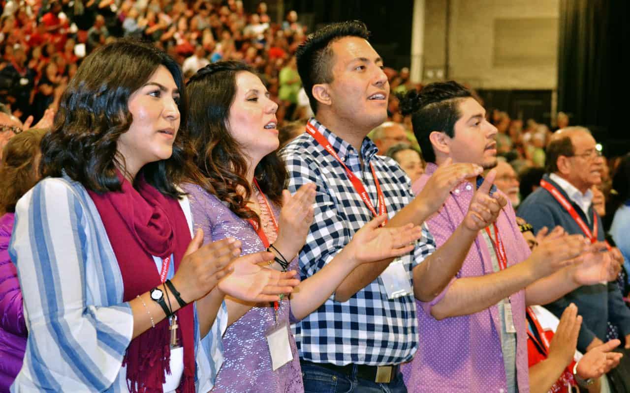 Líderes católicos en camino al V Encuentro