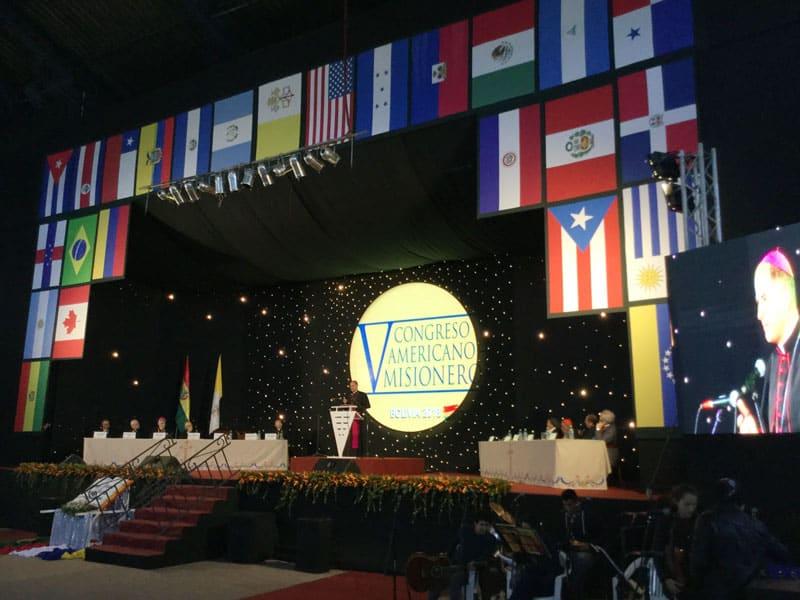 El V Congreso Americano Misionero tuvo lugar en Bolivia