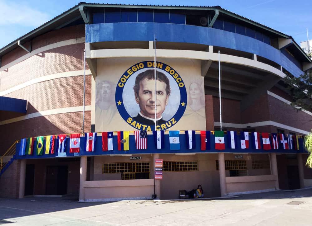 El Congreso Americano Misionero en la escuela Don Bosco