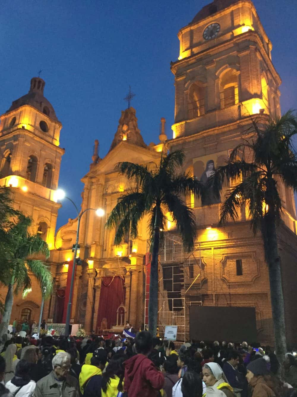 Fotos durante el Congreso Americano Misionero en Bolivia