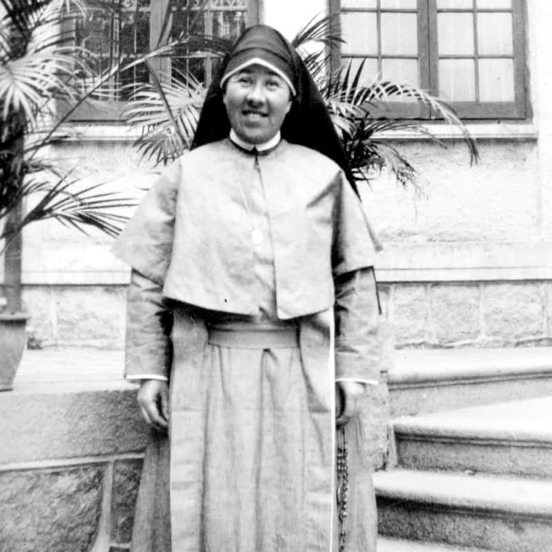 Diversidad, Hermana Mary Francis Davis, la primera hermana Maryknoll bi racial, quien sirvió en China. (Cortesía de Hermanas Maryknoll)