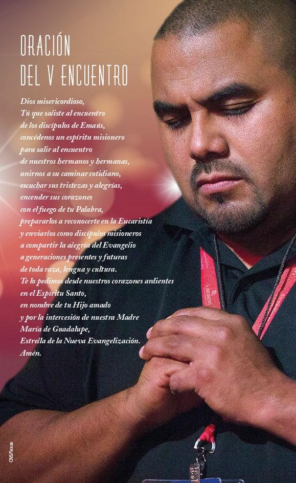 Oración del V Encuentro. (CNS/Texas)