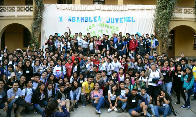 Juventud: Valentía, Generosidad y Alegría
