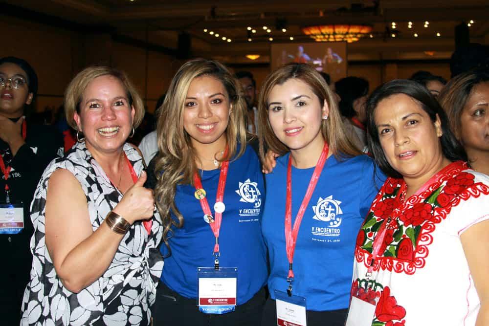 Jóvenes católicas de diferentes diócesis participan en el V Encuentro Nacional. (Giovana Soria/Texas)