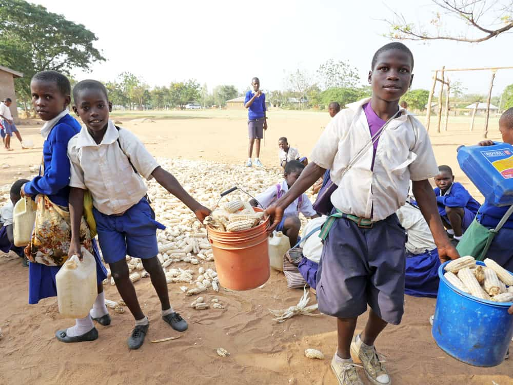 Estudiantes en riesgo en Tanzania