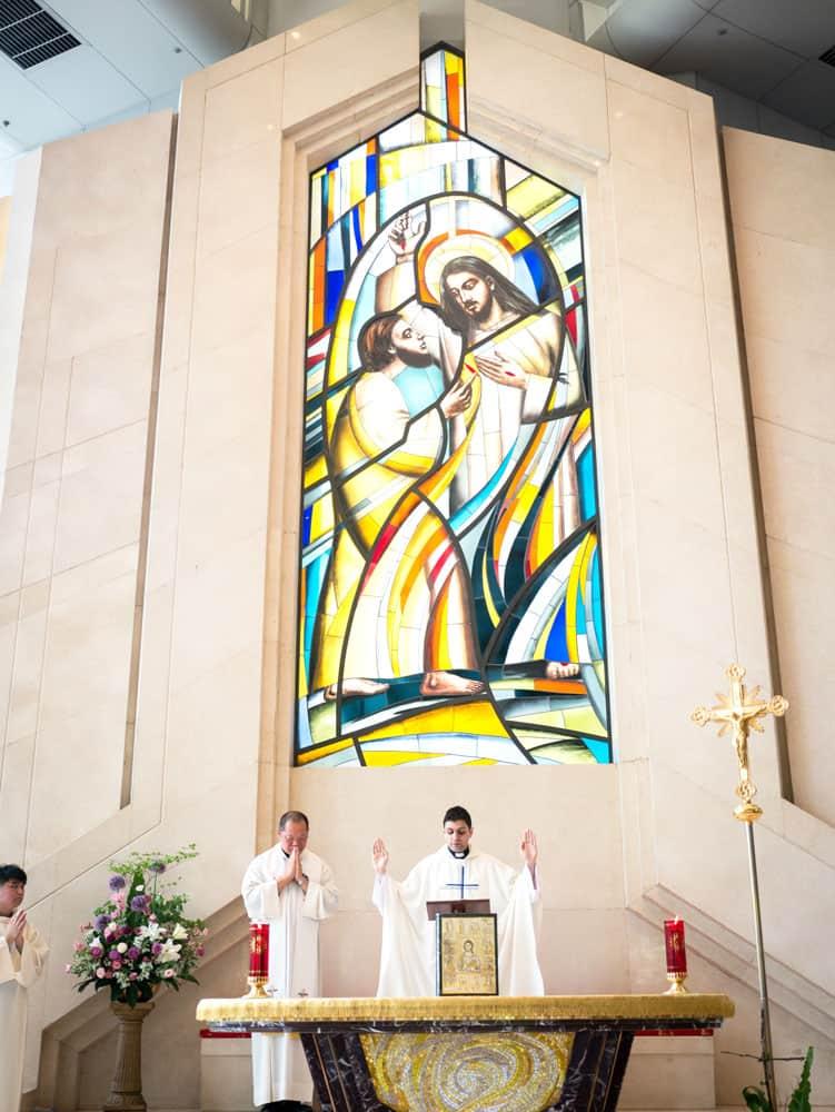 El Padre Maryknoll Peter Latouf