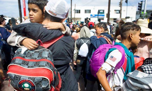 El Rostro de Dios en los Refugiados en El Paso, Texas