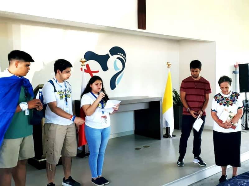 Peregrinos que llegaron antes de la Jornada Mundial de la Juventud con el Papa Francisco en Panamá comparten sus testimonios.