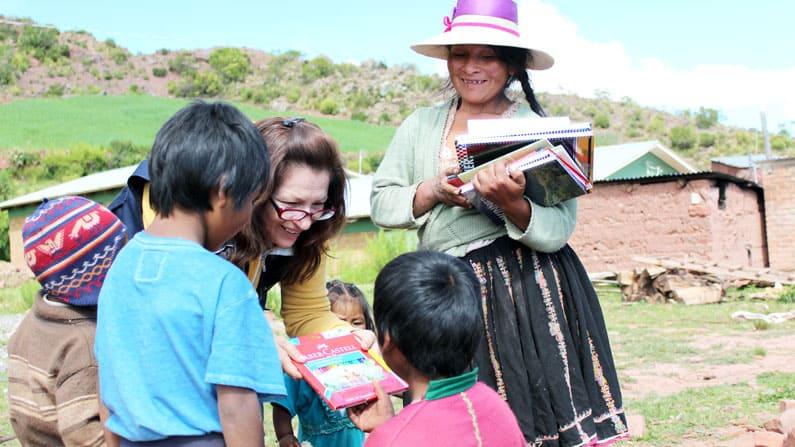 Los Cultivos de Evarista en Sachacaymane, Bolivia