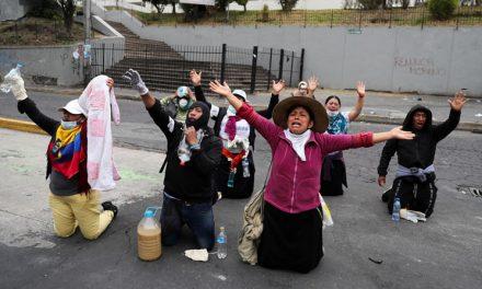 Ecuatorianos en el sínodo pendientes de protestas masivas en casa