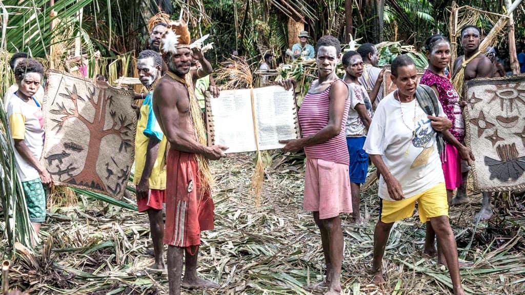 Un Bautismo en Papúa