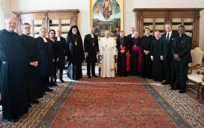 Papa: Unidad Cristiana significa reconocer, acoger dones de los demás