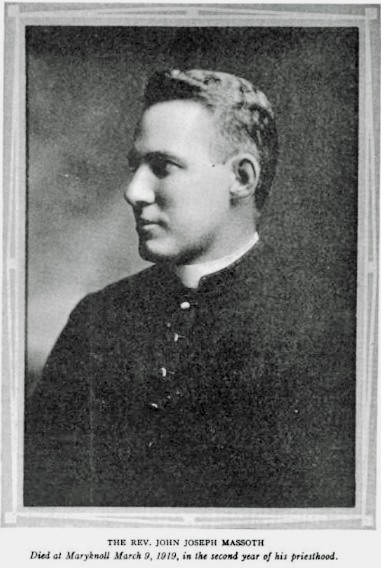 gripe de 1918: Padre Massoth