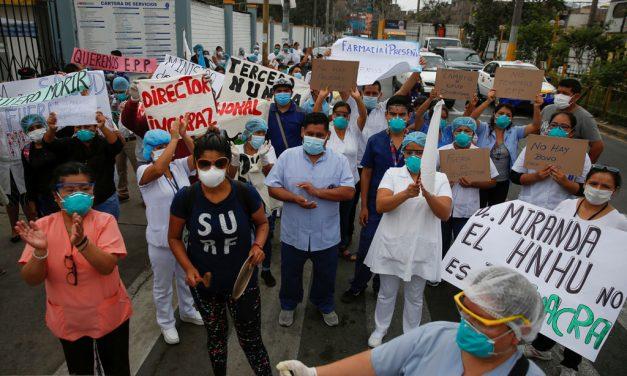 En Amazonía, líderes religiosos en Perú buscan proporcionar oxígeno para los enfermos