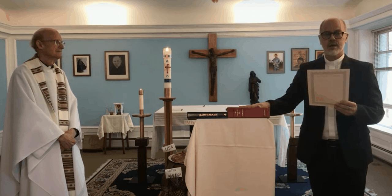 Sacerdote Argentino Realiza Juramento Permanente con la Sociedad Maryknoll