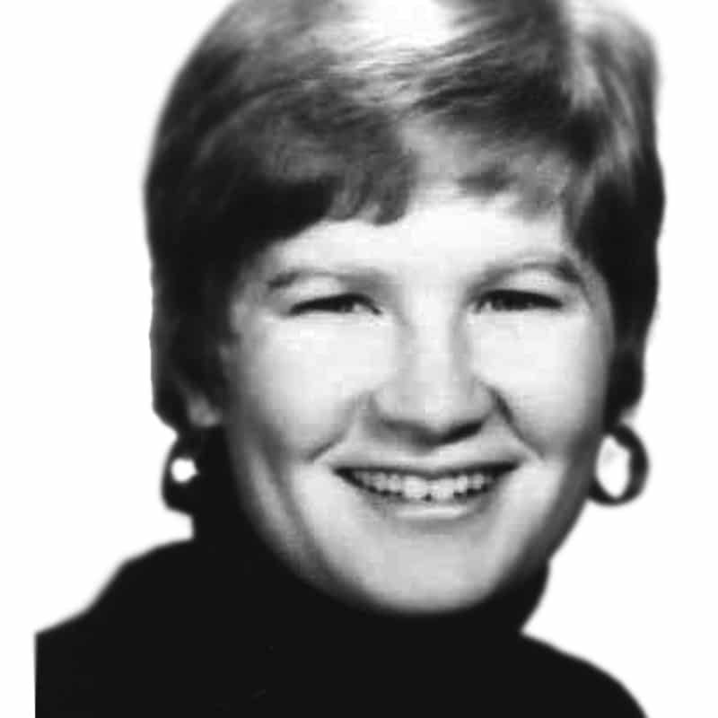 La Misionera laica Jean Donovan, quien fue asesinada en El Salvador en 1980.