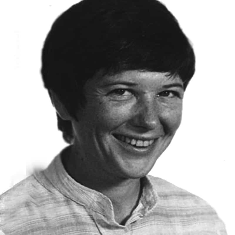La Hermana Maryknoll Ita Ford, quien fue asesinada en El Salvador en 1980.