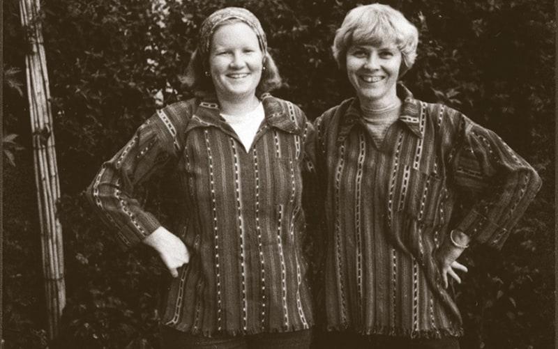 La misionera laica Jean Donovan (l.) y la hermana ursulina Dorothy Kazel eran miembros del equipo misionero de la Diócesis de Cleveland en El Salvador.