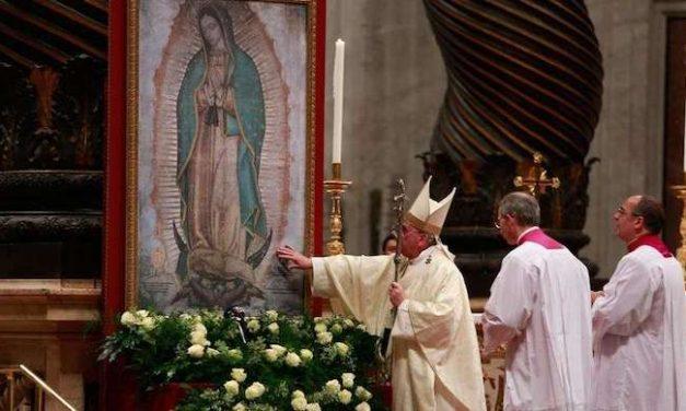 Papa Francisco Celebrará Misa por la Fiesta de la Virgen de Guadalupe