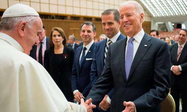 Papa Francisco Saluda a Joe Biden Como Nuevo Presidente de Estados Unidos