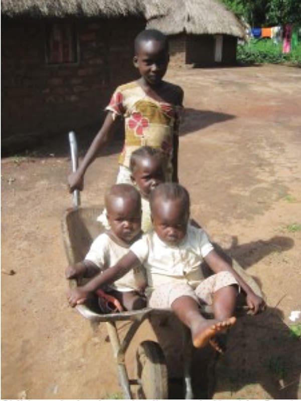 Relatos Primavera 2021: Niños en Yambio, capital del estado de Ecuatoria Occidental en Sudán del Sur, Gabe Hurrish sirve como misionero laico Maryknoll. (Gabe Hurrish/Sudán del Sur )