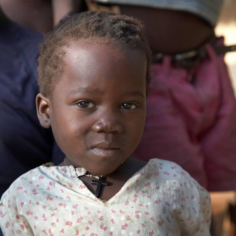 Relatos Verano 2021: Niña en Yei, Sudán del Sur. (Sean Sprague/Sudán del Sur)