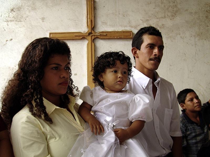 Una familia en Nicaragua (Sean Sprague/Nicaragua)