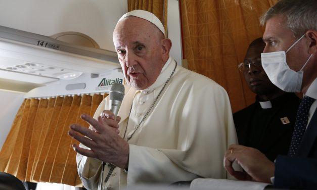 Papa: obispos deben manejar el debate de Comunión como pastores